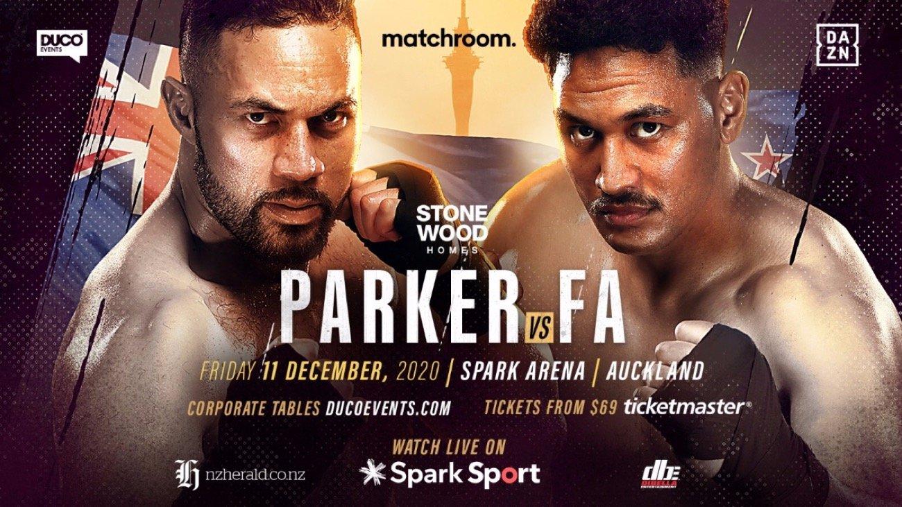Parker Vs Fa – DAZN – Feb. 27