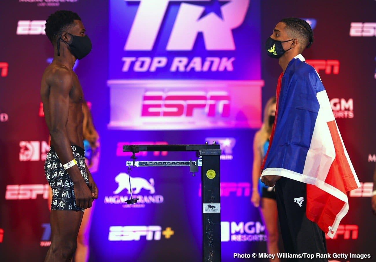 Commey vs Marinez – ESPN – Feb. 13