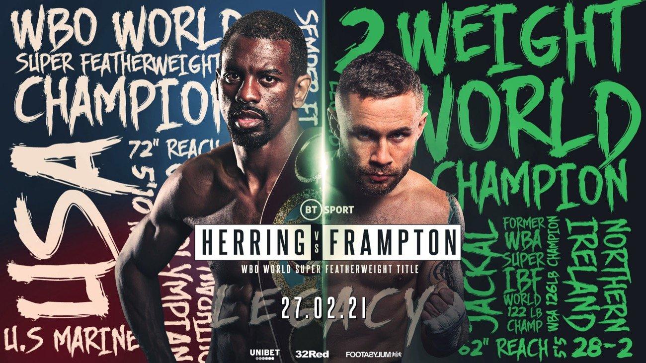 Herring vs Frampton - BT Sport - Feb. 27