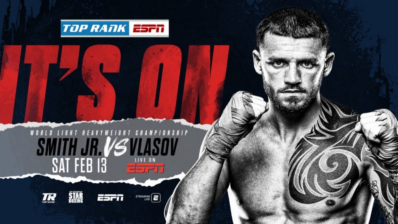 Joe Smith Jr Vs Vlasov – ESPN – Feb. 13