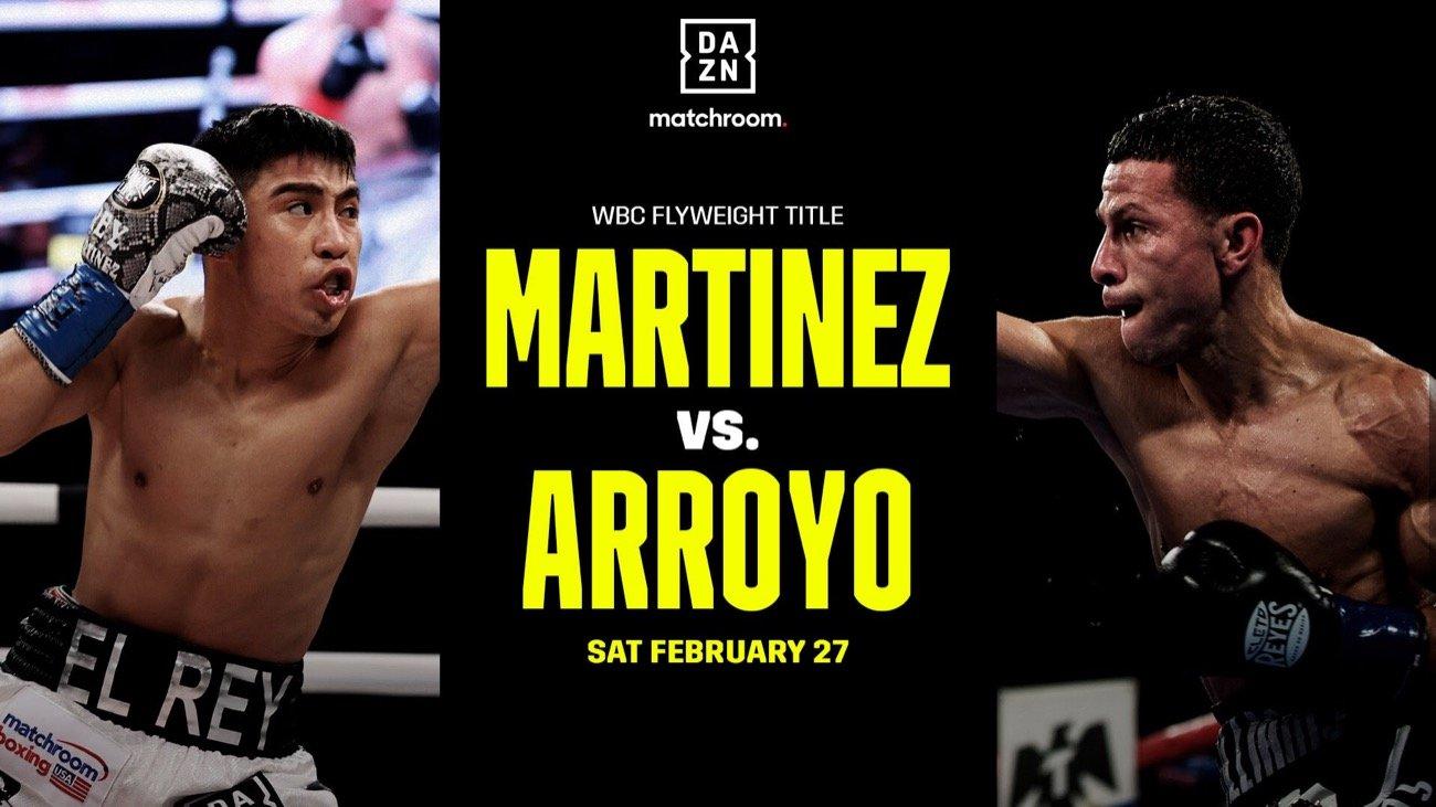 Martinez vs Arroyo - Postponed