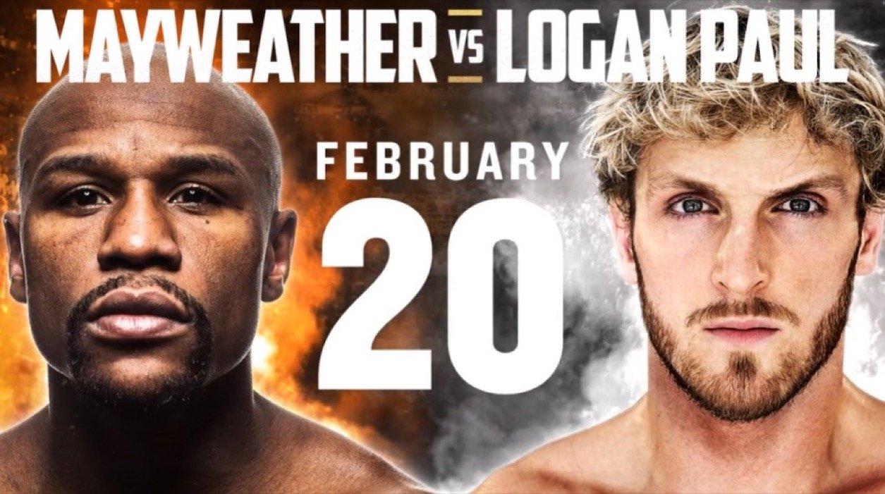 Mayweather Vs Logan Paul – Fanmio – Feb 20