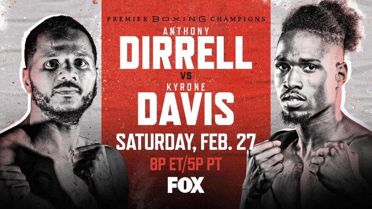 Dirrell vs  Davis - FOX - Feb. 27