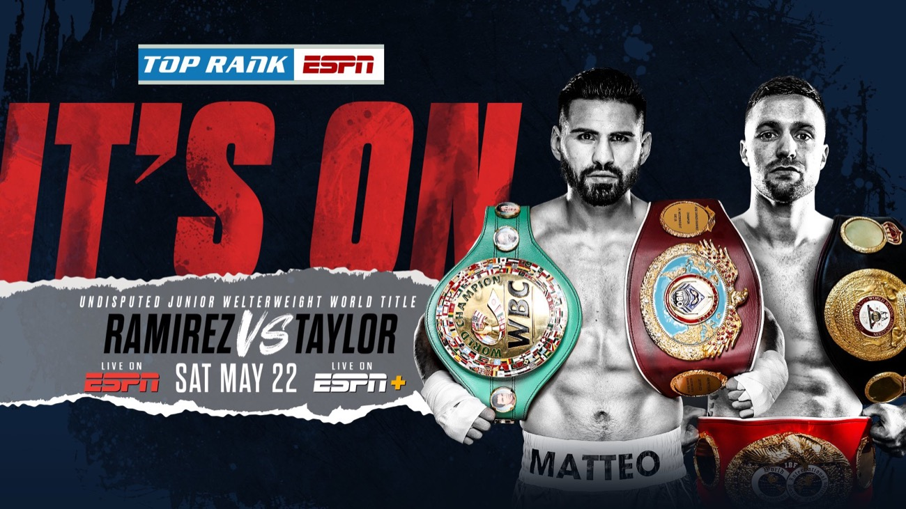 Ramirez vs Taylor - ESPN - May 22