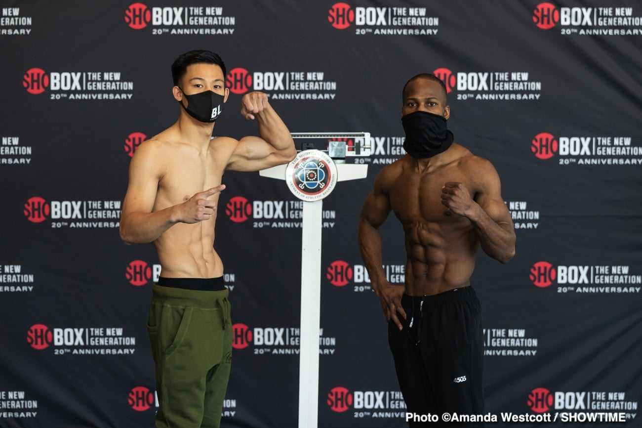 Lee vs Teah - Showtime - March 10