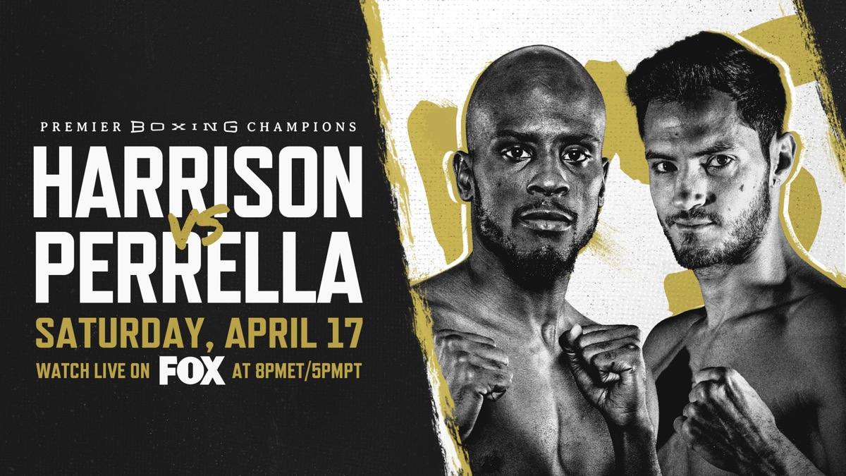Harrison vs Perrella - FOX - April 17