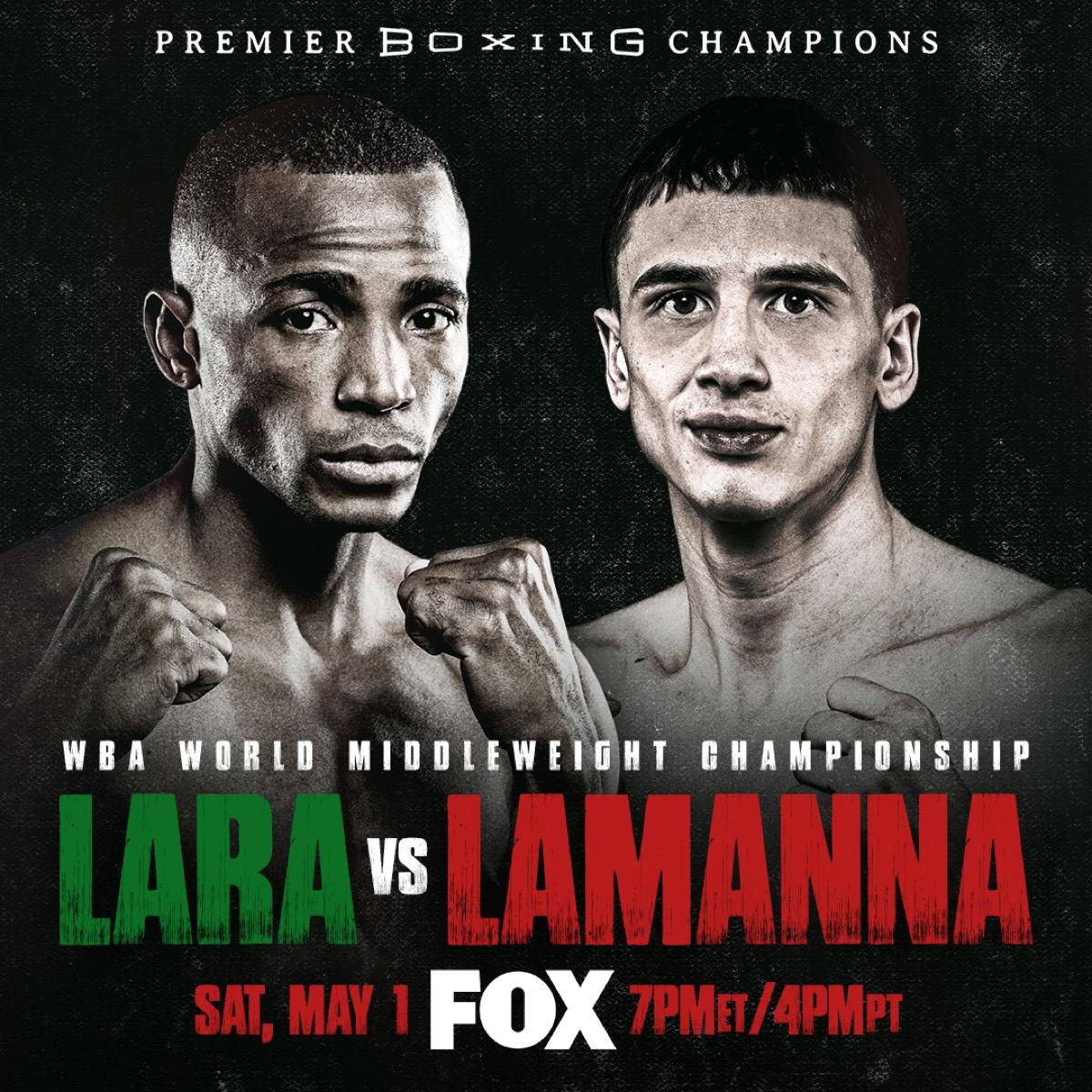 Lara vs LaManna - FOX - May 1