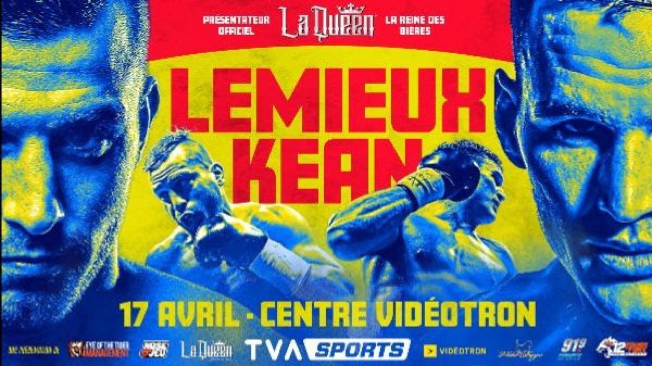 Lemieux vs Landaeta *** Postponed ***