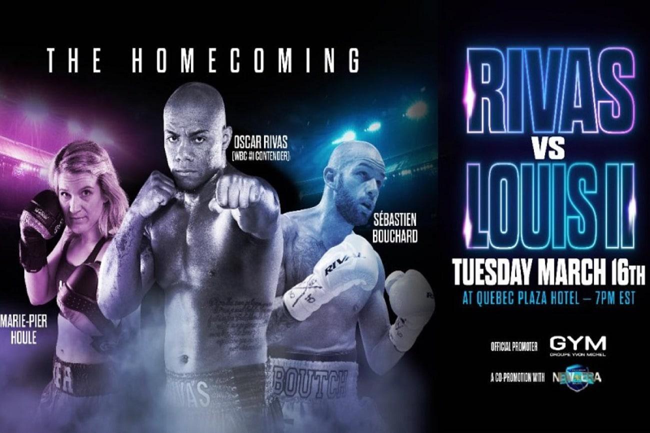 Rivas vs Louis 2 - FITE TV - March 16