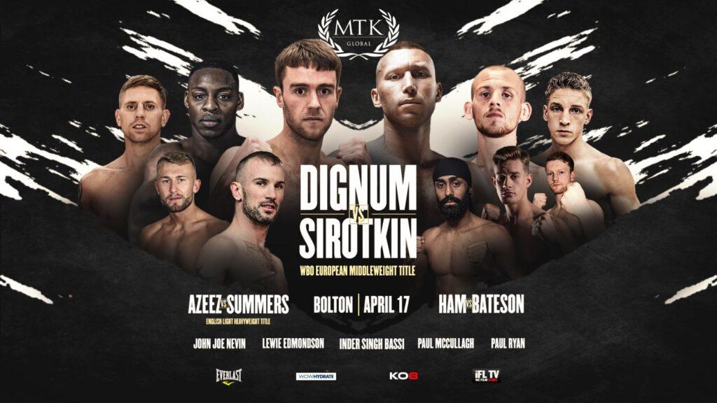 Dignum vs Sirotkin - IFL TV, ESPN - April 17