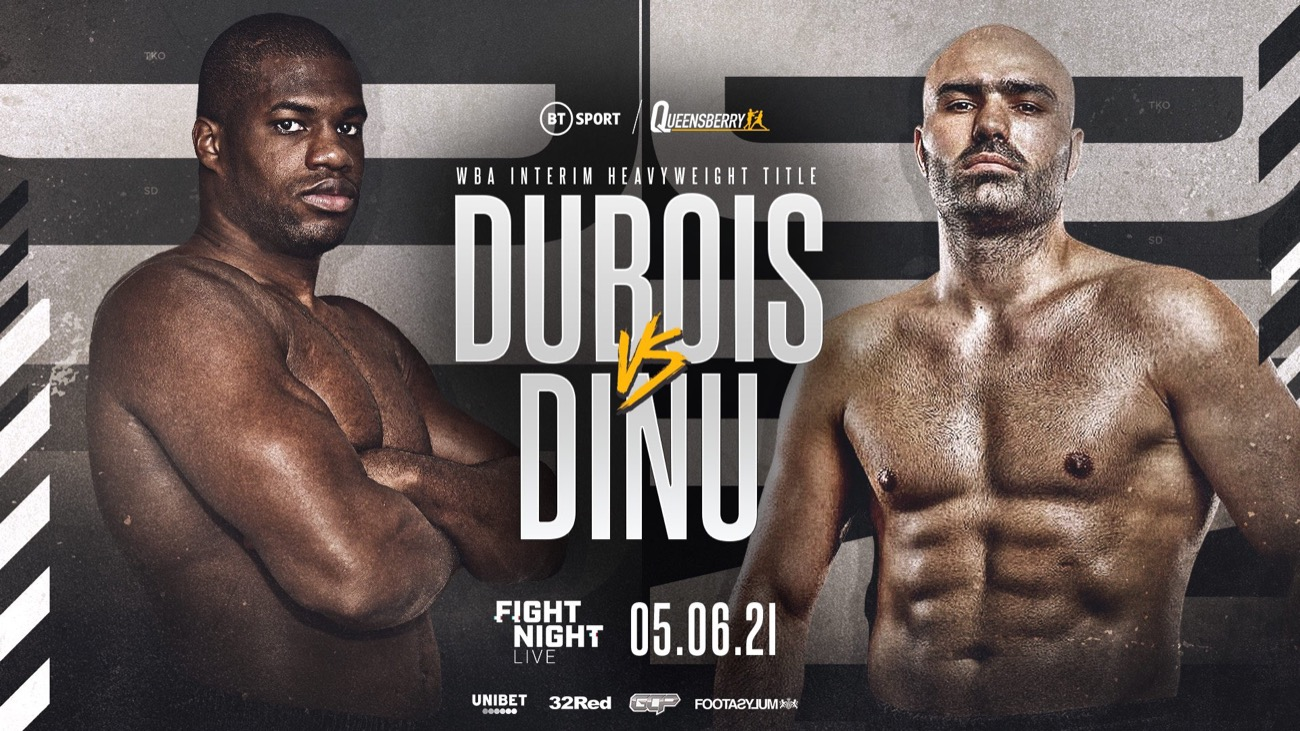 Dubois vs Dinu - BT Sport - June 5