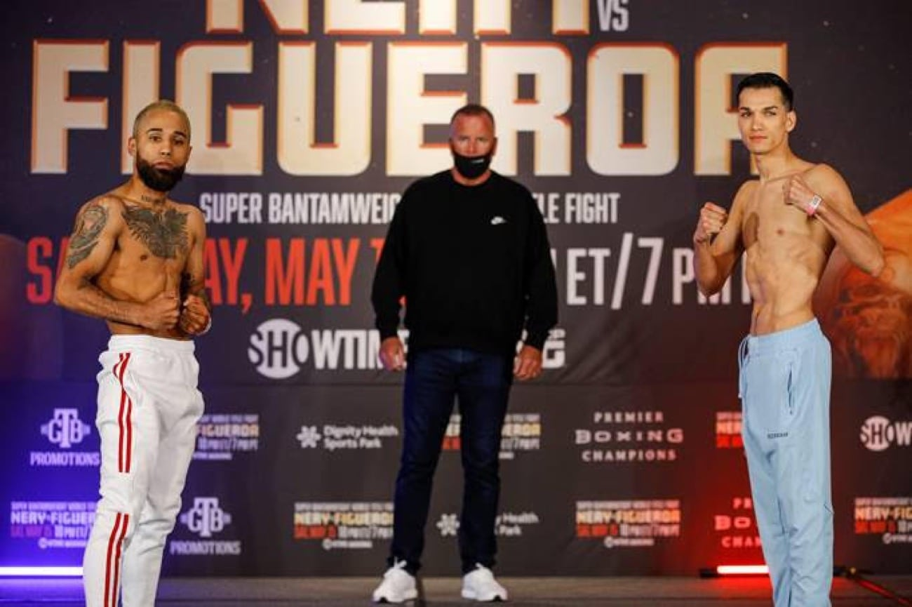 Nery vs Figueroa - Showtime - May 15 - 10 pm ET