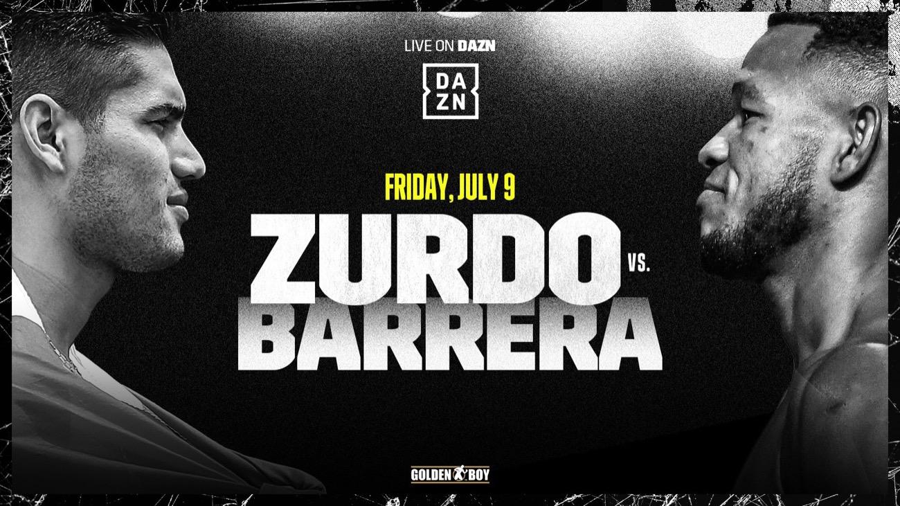 Ramirez - Barrera - DAZN - July 9 - 9 PM ET