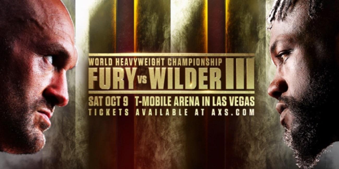 Fury vs Wilder 3 - BT Sport, ESPN+, FOX PPV - October 9 - 9 pm ET