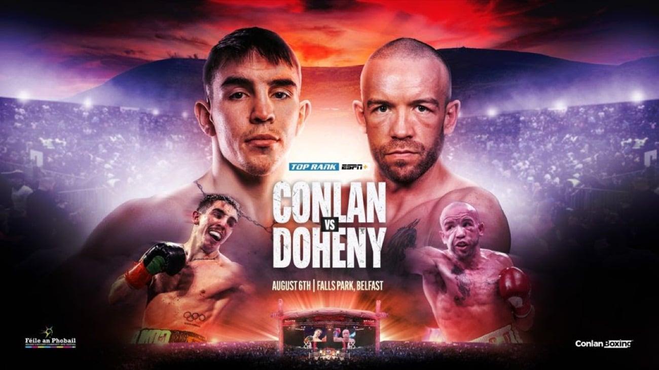 Conlan vs Doheny - ESPN+ - Aug. 6 - 3 PM ET