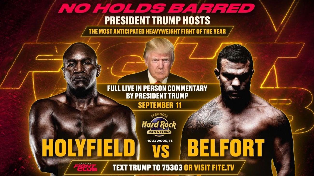 Holyfield vs Belfort - FITE TV - Sept. 11 - 9 pm ET