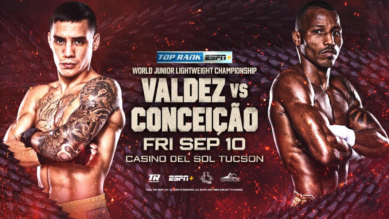 Valdez vs Conceicao - ESPN+ - September 10 - 10 pm ET